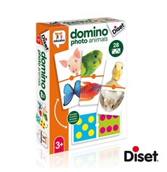 Domino photo animals