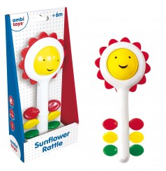 Ambi Toys - Sunflower rattle